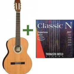Klasik gitar, boyut 3/4, Kremona