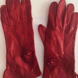Γάντια, γνήσιο δέρμα (Ιταλία)