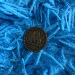 Монета метро 🚊