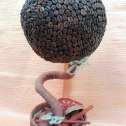 Διακοσμητικό δέντρο (τοίχο καφέ)