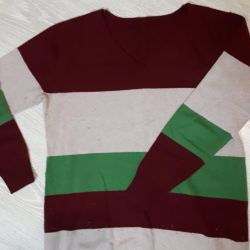 Sweater warm and long 50-52 rr