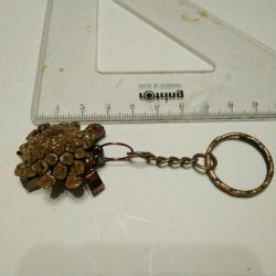 Original gift for loved ones, Turtle keychain.