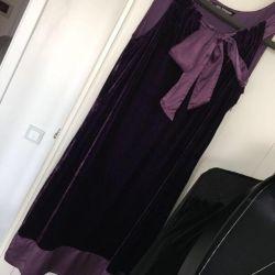 Elegant dress velvet, p.40-42, S exchange / sale