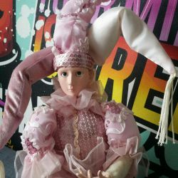 Porcelain doll 13 musical