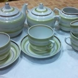 Tea, coffee sets of the USSR