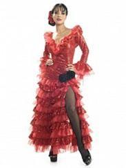 Kostüm İspanyol senorita (kiralık)