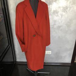 Coat female autumn 48 r, cashmere, Italy
