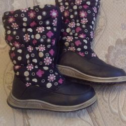 Winter boots, used, size 35