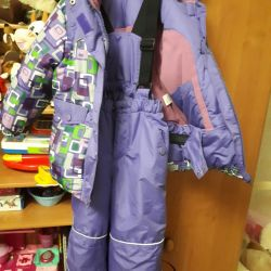 Winter suit for girl