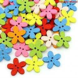 Çok renkli düğmeler ...