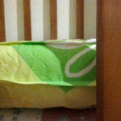 Матрац на детскую кроватку