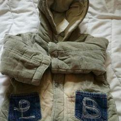Курточка вельветовая мальчиковая