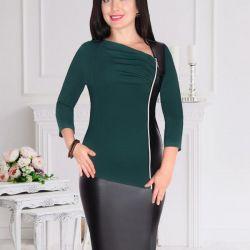 сукні з кож.юбкой 46-48,48- 50