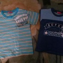 T-shirts height 110