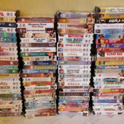 120 Indian films on cassettes and on discs