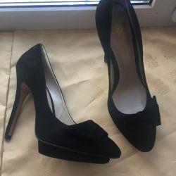 Pantofi noi suede p37 Italia 🇮🇹