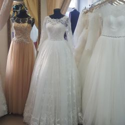 Hire of wedding and evening dresses