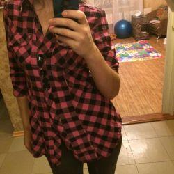 Стильная рубашка туника