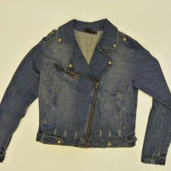 Denim jacket (leather jacket)