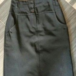 Школьная юбка-карандаш ТД
