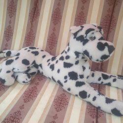 Toy soft big Dalmatian