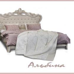Albina's bed