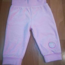 Pantaloni pentru fată rr 68