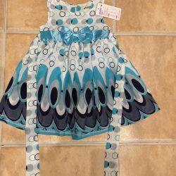 Kız için yeni elbise
