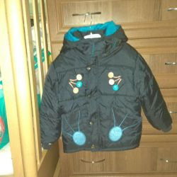 Winter jacket for the boy