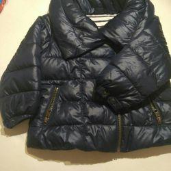 Down jacket gap
