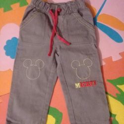 Cotton pants Disney