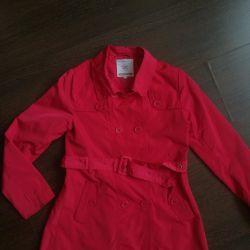 7-8 yaş arası kızlar için İtalyan pelerini
