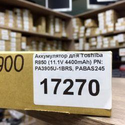 New Battery (4400mAh) for Toshiba R850 Warranty