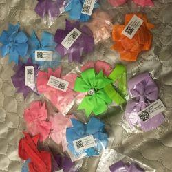 Новые повязки на голову с бантом