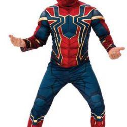 Muscular Iron Spider Armor Costume