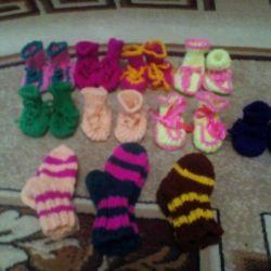 Socks booties