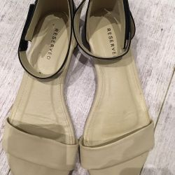 Sandals Reserved, 38 size