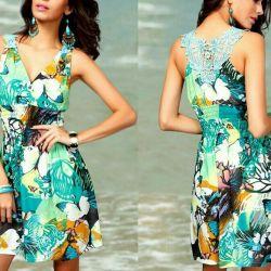 Emerald dress, new