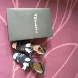 Branded sandals TAMARIS and shoesMNG