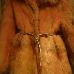 Fur coat fur 46-48r