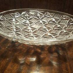 Plăci de cristal. Vase de cristal