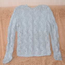 Μπεζ ανοιχτό πουλόβερ