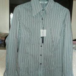 Blouse new Shirt AZZARO (44М)