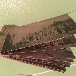 Pre-revolutionary cards Irkutsk