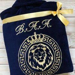 Bathrobe Lion