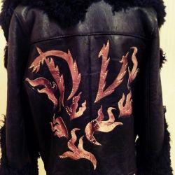 Sheepskin coat for men designer