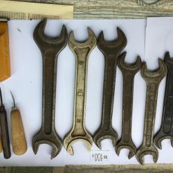 Keys of different sizes used.