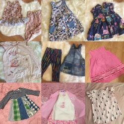 Fashionable clothes for a girl