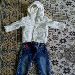 Костюмчик детский, качество хорошое. Р (69-72см)