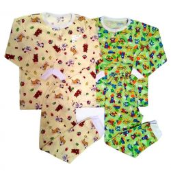 Children's pajamas from cotton, Russia